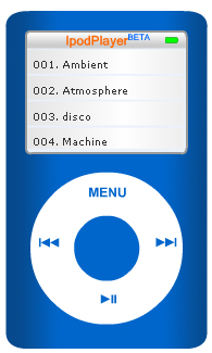 Visualizza l'IpodPlayer