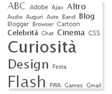 TagCloud su JuliusDesign