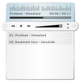 JW Flash Mp3 Player - ver. 1.1