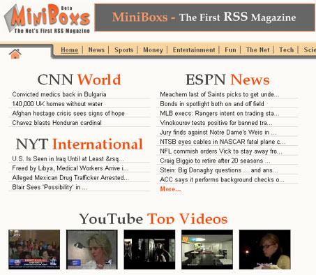il primo Magazine RSS