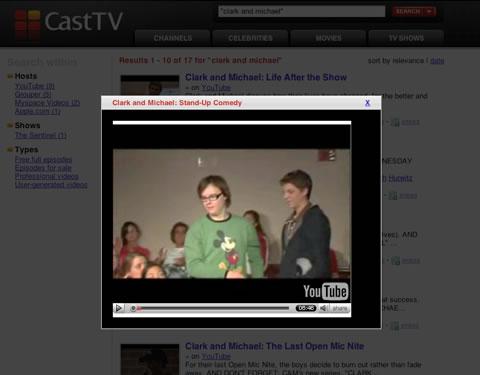 Motore di ricerca video BETA