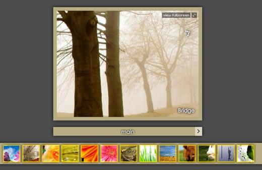 Image Gallery Fullscreen [AS3]