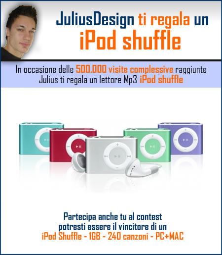 Julius regala un iPod Shuffle