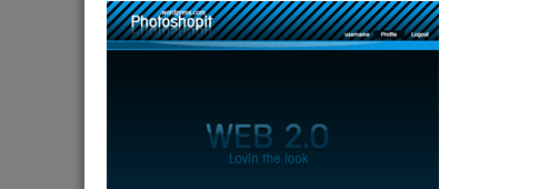 Layout Web 2.0