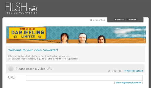 Scarica e converti videoclip online