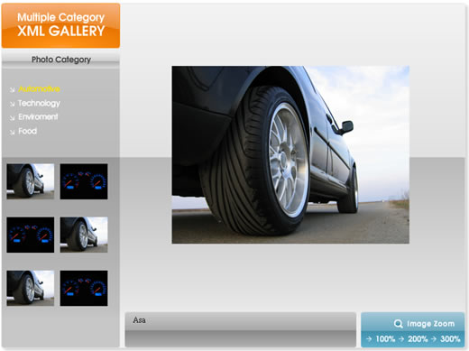 Multiple Category XML Gallery