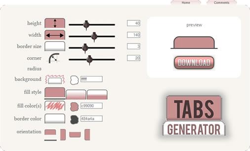 Creare Tabs personalizzati